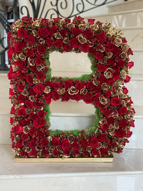 "Large Size Letter Arrangement in 25"" H"
