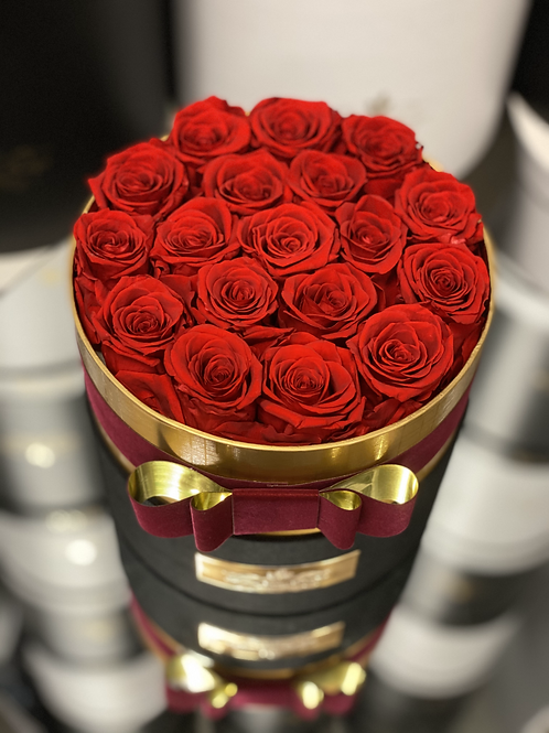 Preserved Roses in Medium Size