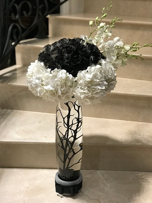 Medium Size Flower Arrangment for Memorial Without bases