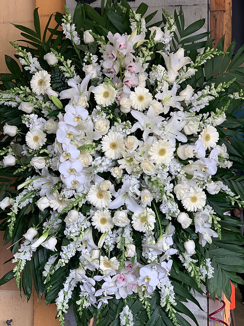 Extra Large Funeral Arrangement on Stand