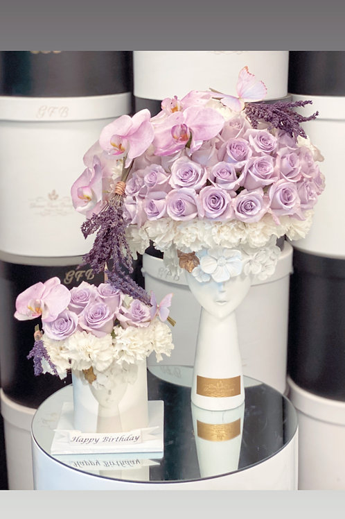 Set of New Style Lady's Hair Flowers with Cake