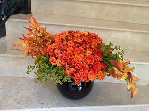 Large Roses center pieces