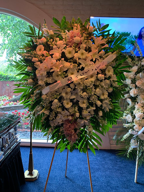 Extra Large Funeral Flower Stand