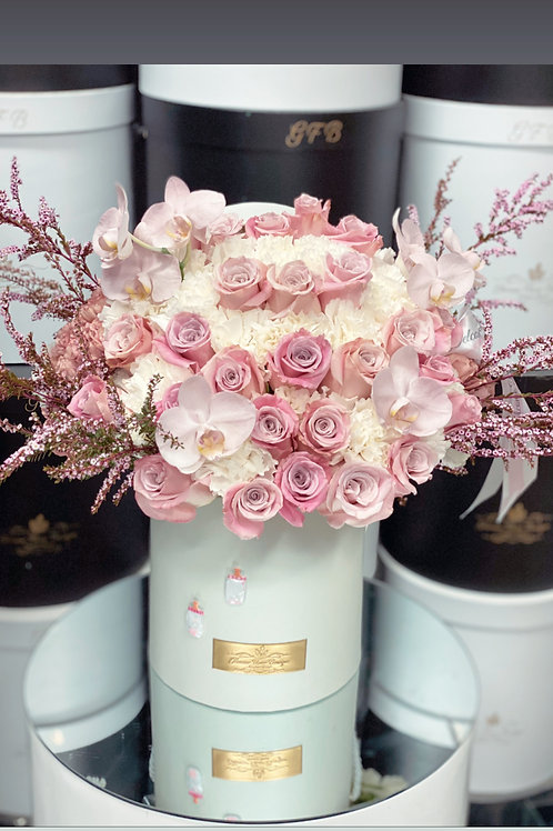 Welcome Baby Bouquet in Medium Size with Bottle Design