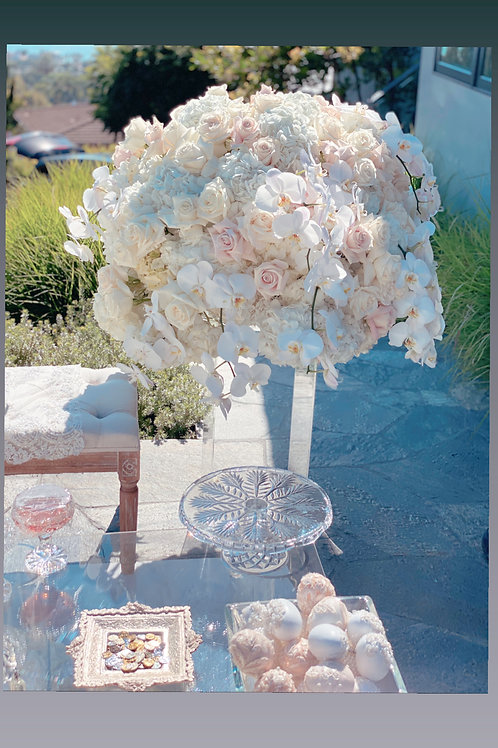 Pair Extra Large Wedding Flowers