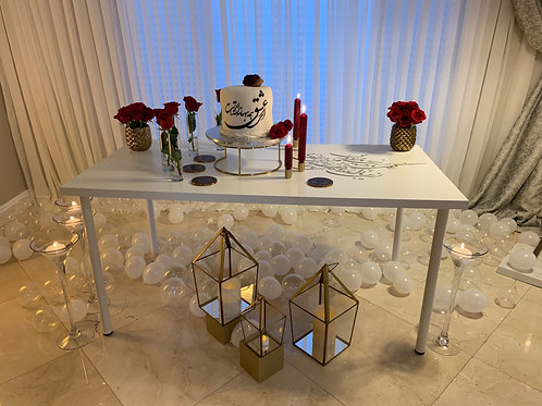 Birthday Table Decorations