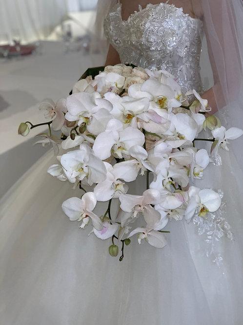 Bride Cascade Hand Bouquet