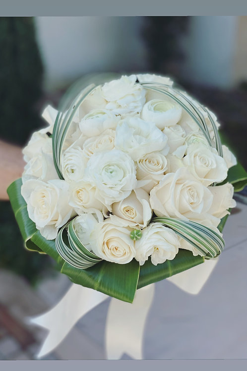 Small Size Bride Hand Bouquet