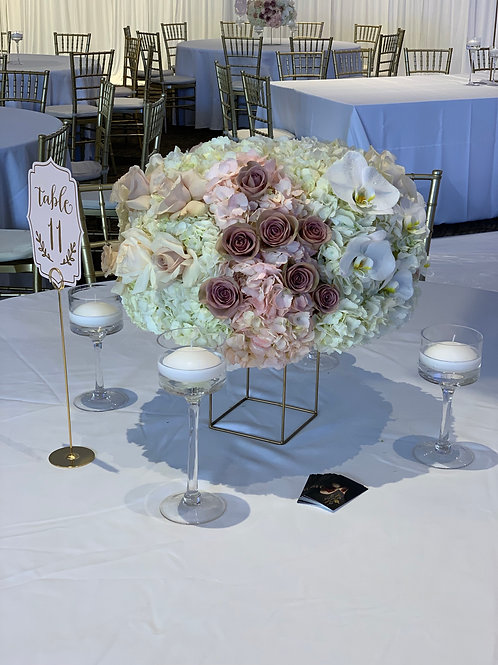 Short Wedding Centerpiece