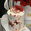 Thumbnail: Set of Cake and Flowers in Color White and Red