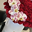 Thumbnail: Large Size Roses box with Tigger Orchids