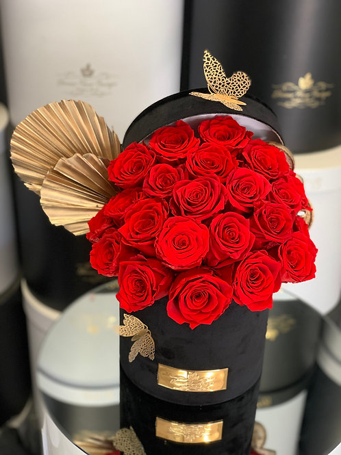 Medium Size Preserved Roses Box