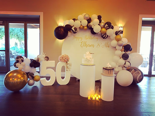 50th Birthday Decorations