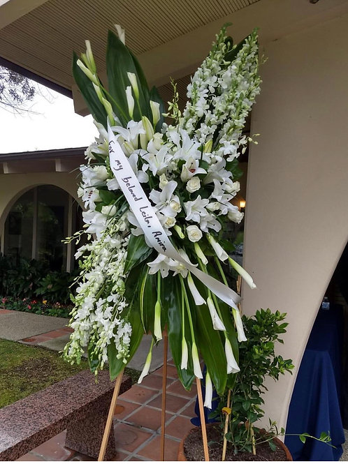Funeral Stand Arrangment