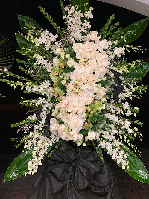 Large Size Flower arrangement on Stand
