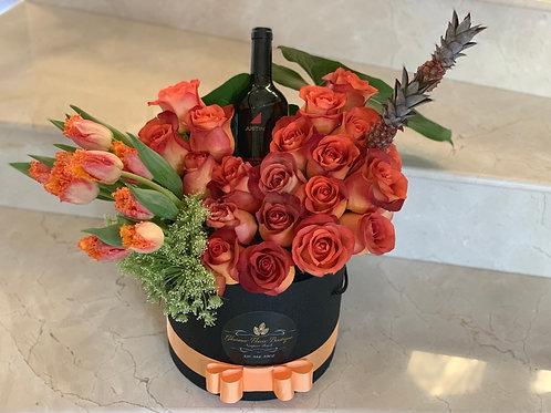 "Medium size Flower Arrangement ""Not With Drink"""