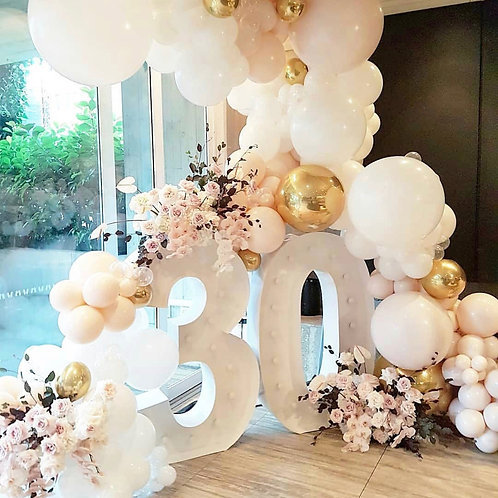 BirthdayParty Decorations With your Custom-made Name or Numbers