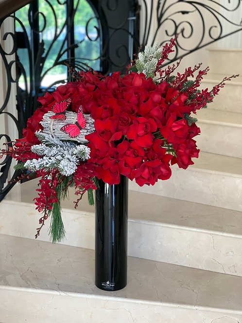 Extra Large Red Roses
