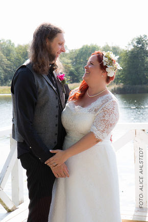 Bröllop vid Farsta Gård.