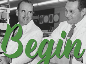 """Just begin, the rest is easy"" -                                           George Jenkins,"