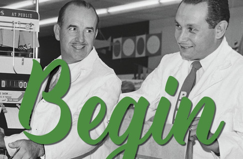 """""""Just begin, the rest is easy"""" -                                           George Jenkins,"""