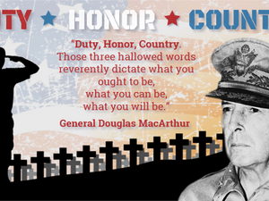 The political decay of Duty, Honor, Country?