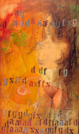 Woman Standing Nude