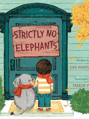 STRICTLY NO ELEPHANTS written by Lisa Mantchev