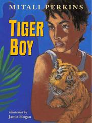 TIGER BOY written by Mitali Perkins
