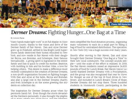 Dermer Dreams Featured in Community Magazine NJ