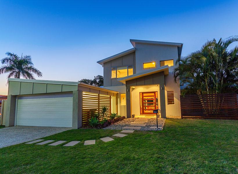 Modern australian home front at dusk.jpg