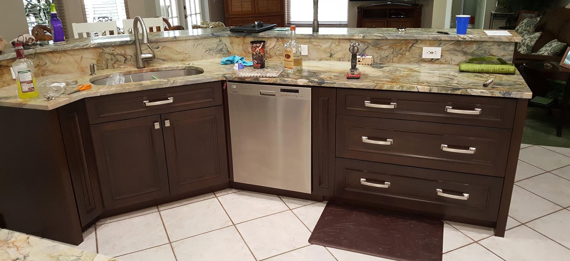 Shaker Styel Cabinets