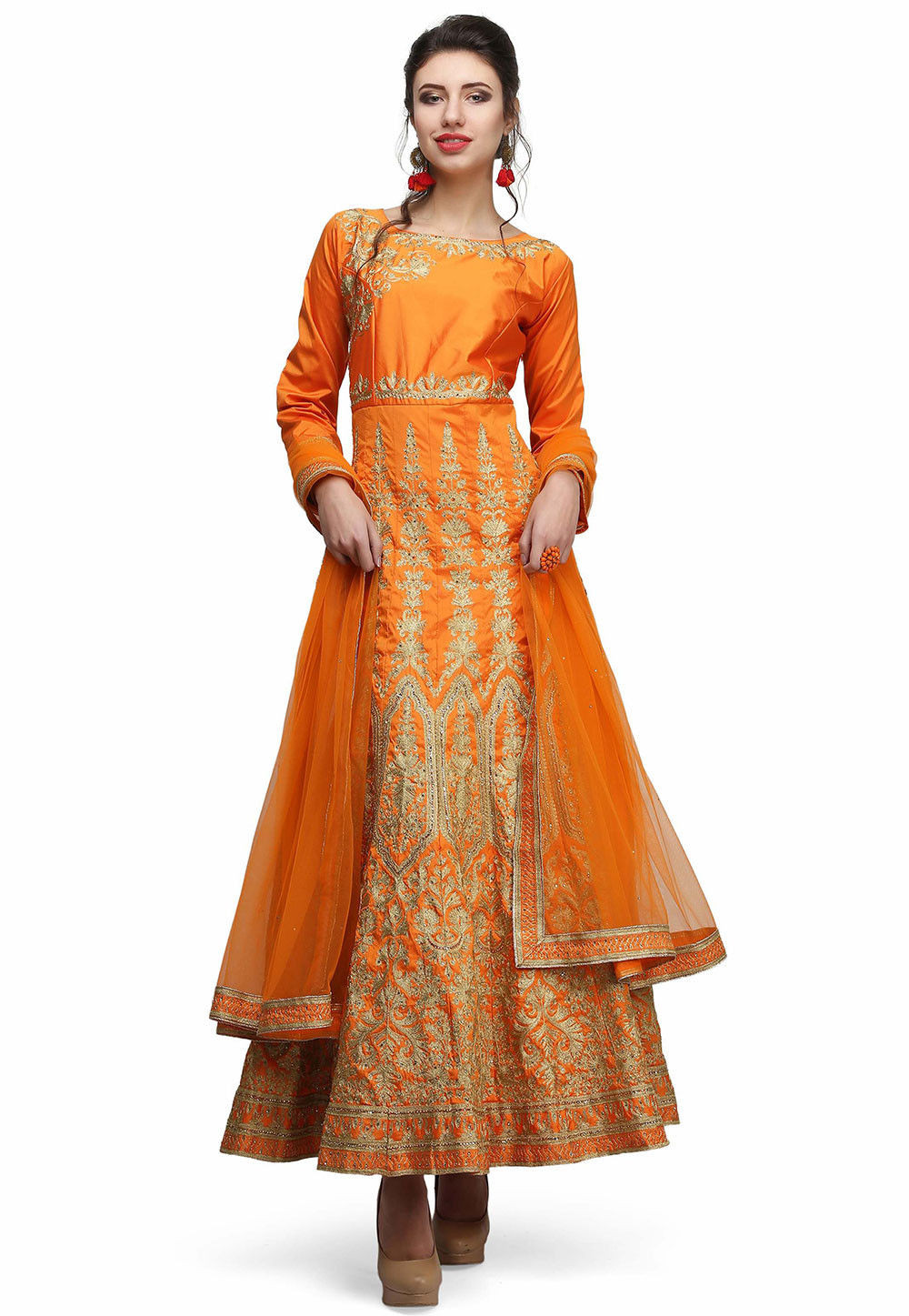 Abaya Style Salwar Kameez