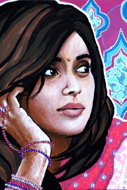 Elodie Mondelice Artwork 'Bhavana'