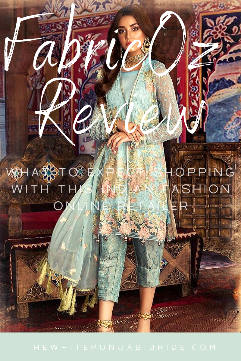 FabricOz Review: What To Expect Shopping With This Indian Fashion Online Retailer