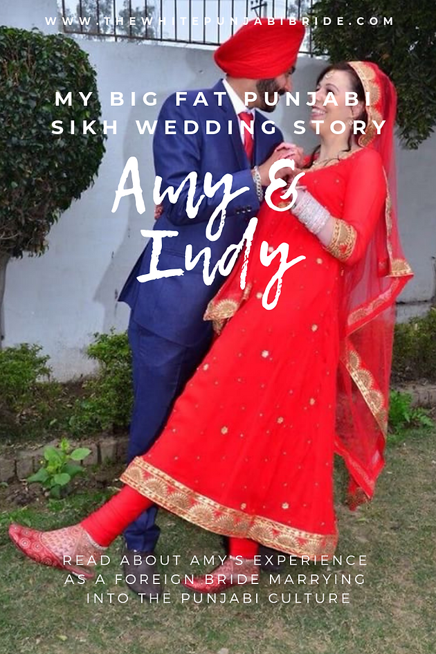 My Big Fat Punjabi-Sikh Wedding Story: Amy & Indy