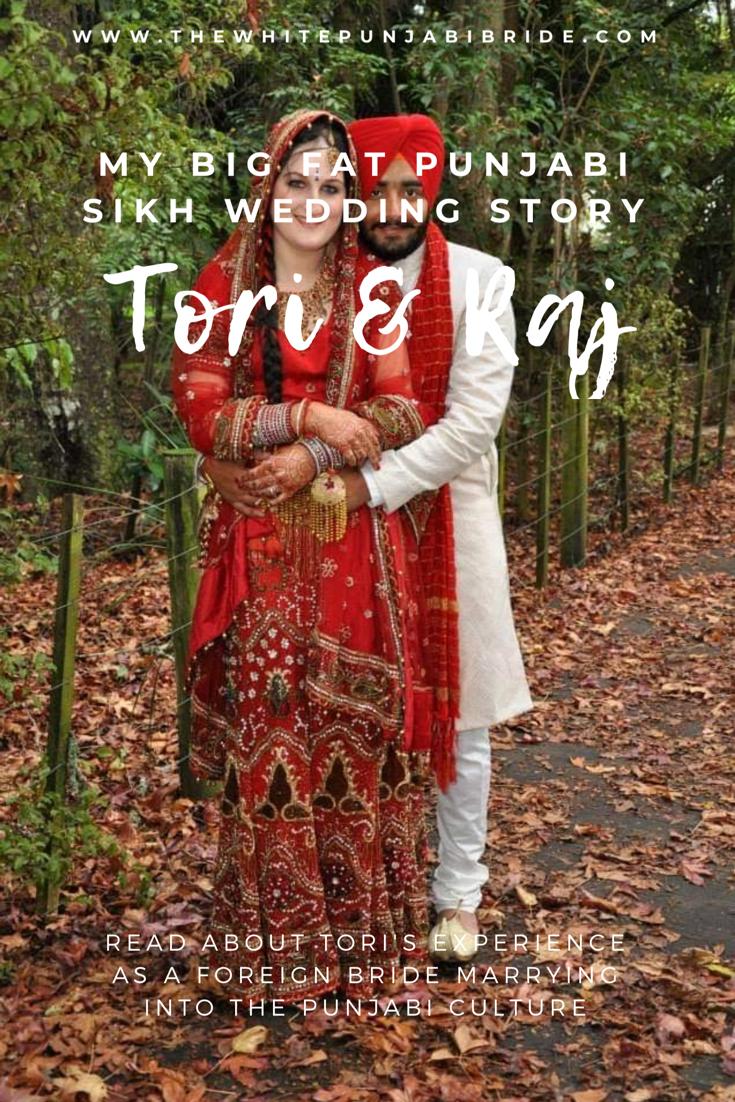 My Big Fat Punjabi-Sikh Wedding Story: Tori & Raj