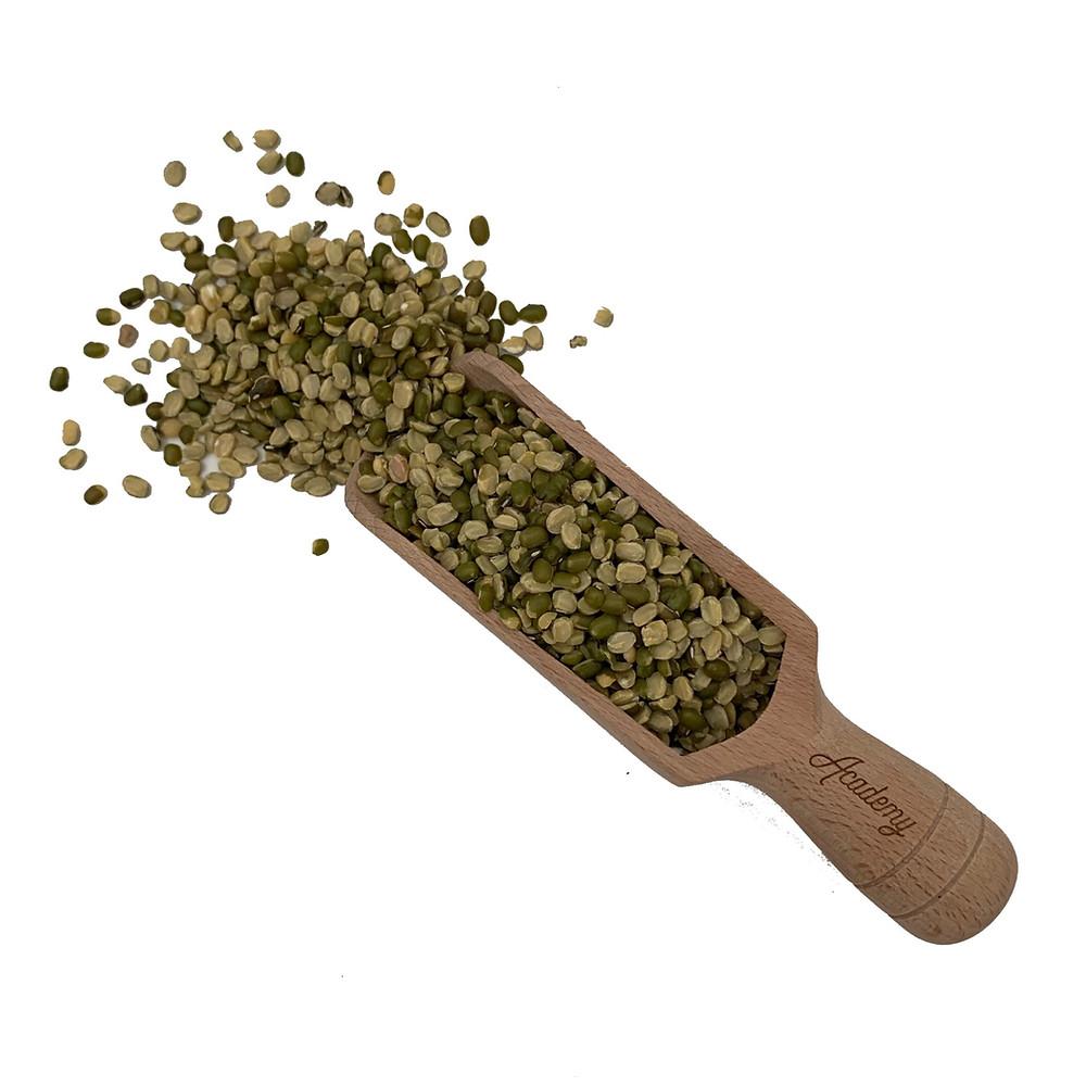 Split Green Mung Bean With Husk