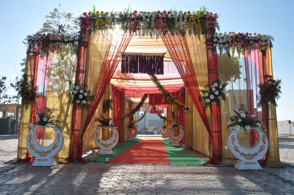 Wedding Palace Entrance