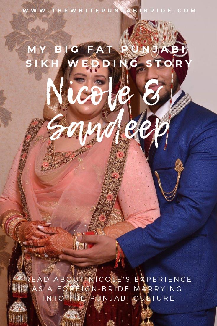 My Big Fat Punjabi-Sikh Wedding Story: Nicole & Sandeep