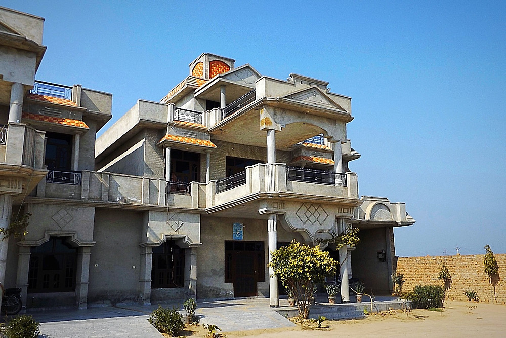 Traditional Punjabi House In The Countryside