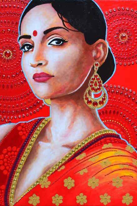 Elodie Mondelice Artwork 'Abhaya'