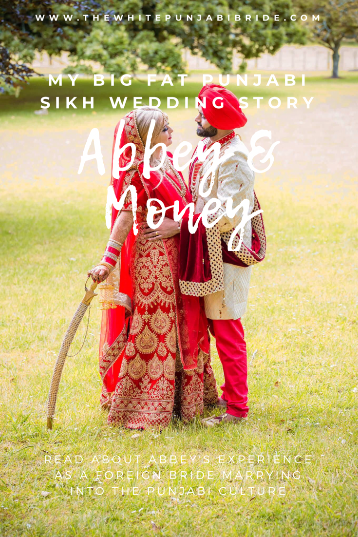 My Big Fat Punjabi-Sikh Wedding Story: Abbey & Money