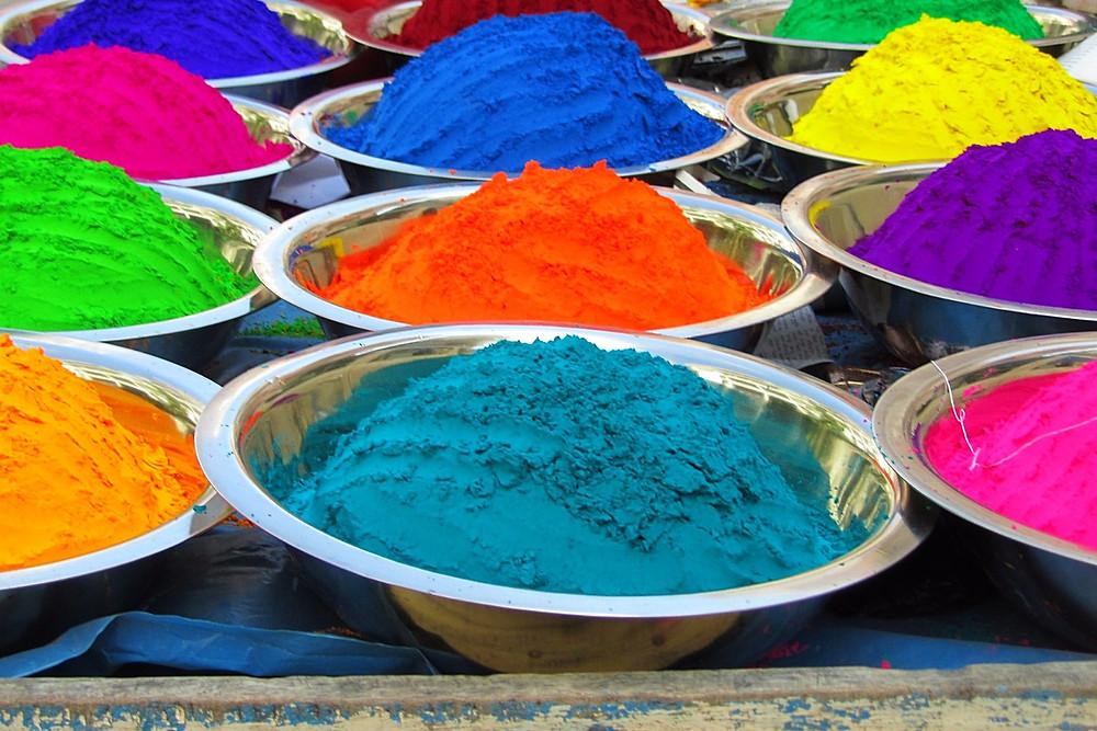 Holi Powder Known As 'Gulal'
