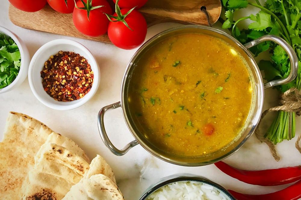 Simple Dahl Curry Recipe