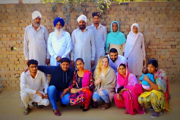 Meeting The Punjabi In Laws