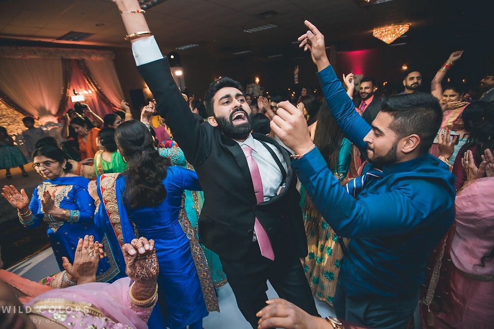 The Groom Dancing The Night Away