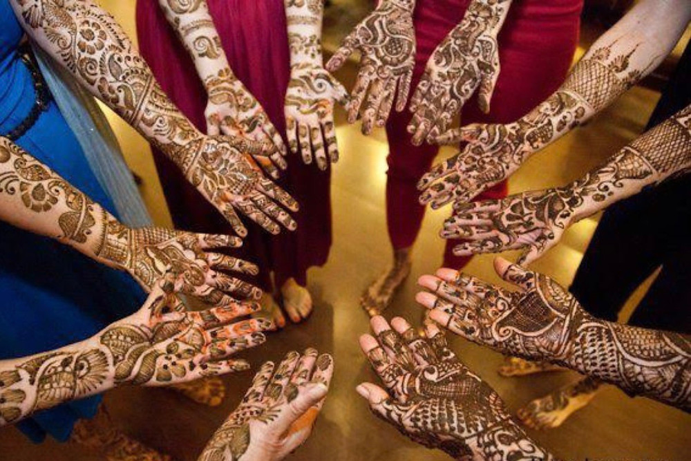 The Mehndi Ceremony. Photo Credit: JLee Imagery