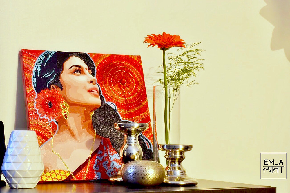 Artwork 'Ashakiran' On Display