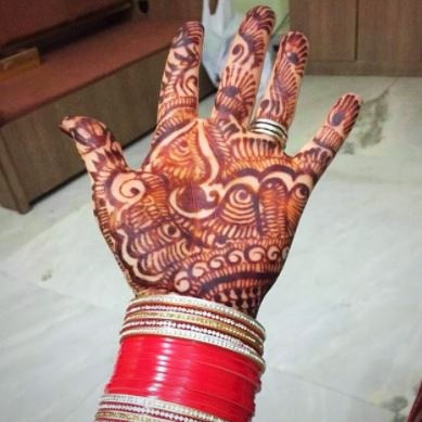 The Bridal Mehndi